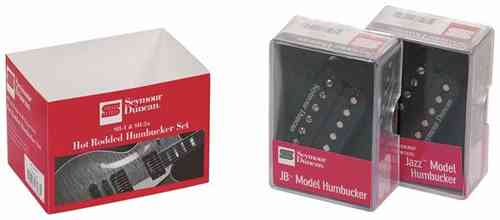 Seymour Duncan Hot Rodded Humbucker Set, Hals + Brücke