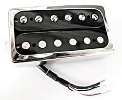 "Duesenberg Crunchbucker""Bridge hot"", black/nicke"