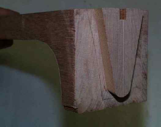 Milled dovetail joint