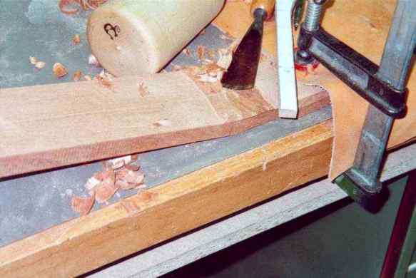 Parting of wood supernatant