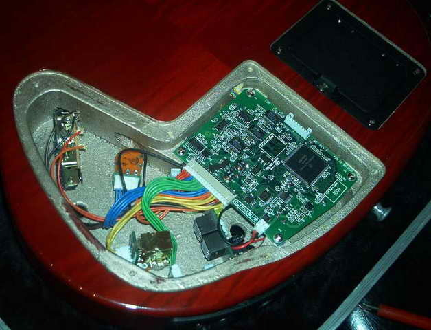 Variax electronics ready