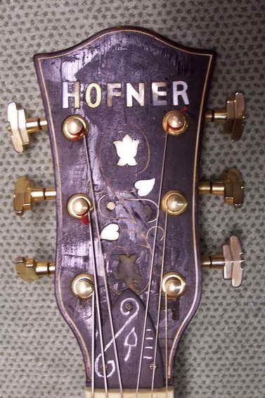 Restoration of a Höfner
