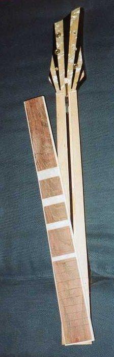 Inserted truss rod