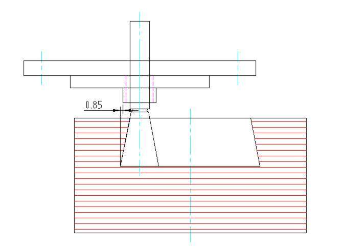 Dovetail template device for precise cutting of guitar for Dovetail template maker