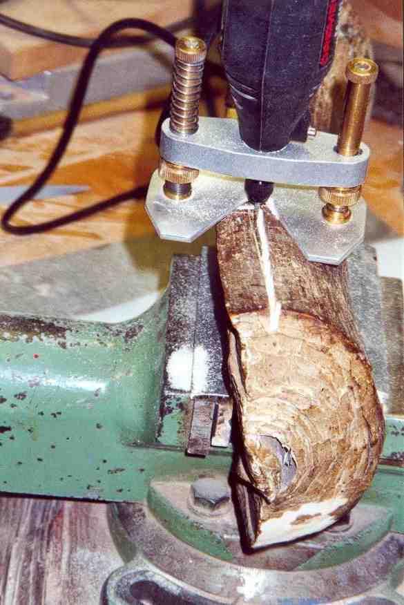 Milling of a specimen