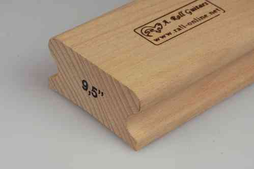 "R=9,5"" hard wood sanding block; 250mm"