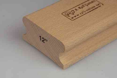 "R=12"" hard wood sanding block; 250mm"