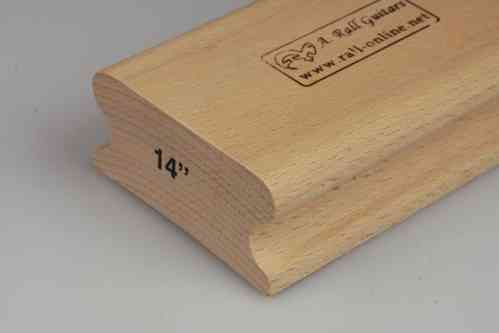"R=14"" hard wood sanding block; 250mm"