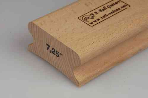 "R=7,25"" hard wood sanding block; 125mm"