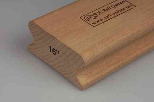 "R=16"" hard wood sanding block; 250mm"