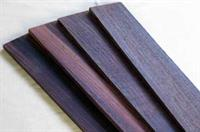 Fretboard Rosewood, 54/65mm x 500mm x 6,5mm, planed