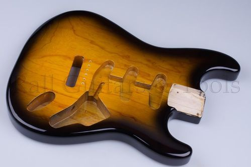 Double Cut Standard Body, Swamp Ash 2 Tone Sunburst