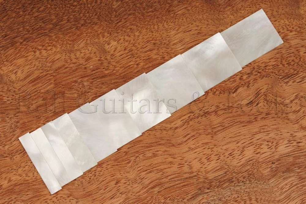 Musical Instruments Diy Inlays Material White Mother Of Pearl Inlay Blank For Guitar Fingerboard Guitar Neck Buy Now Stringed Instruments
