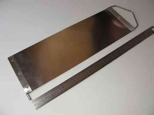 Option: Stainless Steel Slat For Bending Iron