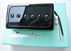 Duesenberg Domino Pickup, Hals, all black