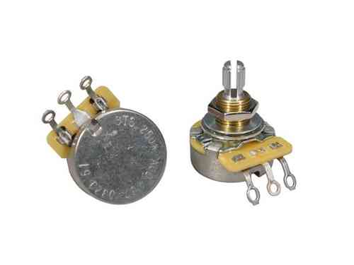 250K A CTS audio potentiometer log., standard