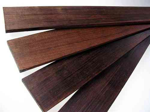 "1 pc Fret Board Madagascar Rosewood ""brown select"""