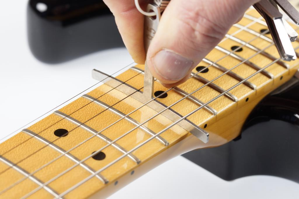Understring Radius Gauge Set Of 9 Rall Guitars Tools