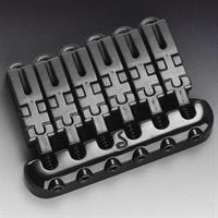 Schaller Hannes 6 guitar bridge black chrome