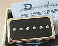 Duesenberg Domino Pickup Bridge, nickel/black
