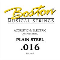 Steel String Plain Steel - 0,016""