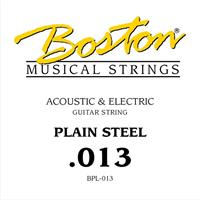 Steel String Plain Steel - 0,013""