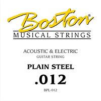 Steel String Plain Steel - 0,012""