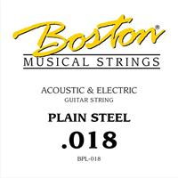 Steel String Plain Steel - 0,018""