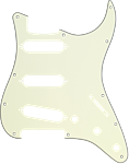 Fender Modern Style Stratocaster®SSS 11-Hole MG Pickguard