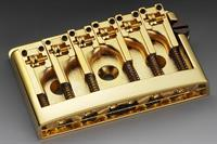 Schaller 3D-6 Guitar Bridge Gold