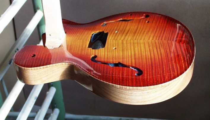 lackierung indie gitarre rall guitars tools. Black Bedroom Furniture Sets. Home Design Ideas